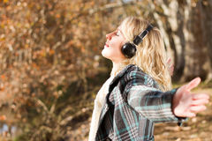 Music outdoors Royalty Free Stock Images