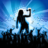 Music party Royalty Free Stock Image