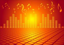 Music party Royalty Free Stock Photos