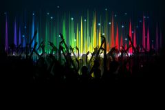 Music Party Royalty Free Stock Photography