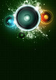 Music Party Abstract Background Royalty Free Stock Images