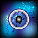 Music Party Background stock photography
