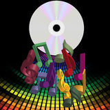 Music Party Background Royalty Free Stock Images