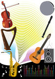 Music Party Background_eps Royalty Free Stock Image