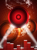 Music Party Background Stock Images