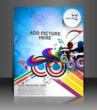 Music Party Flyer Royalty Free Stock Photos