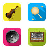Music and party icons 2 Royalty Free Stock Photography