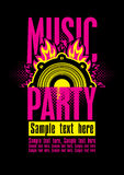 Music party Stock Photography