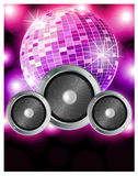 Music party poster Stock Images