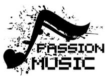Music passion Royalty Free Stock Photo