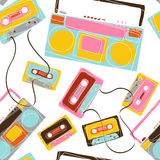 Music pattern design Stock Photo