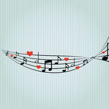 music pattern design Royalty Free Stock Photo