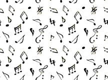 Music patterns Royalty Free Stock Photography