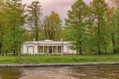 Music pavilion on Elagin island, Saint-Petersburg Stock Photography