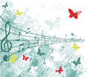 Music performance. A illustration of music performance background Stock Photography