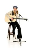 Music performer, guitar Royalty Free Stock Photos