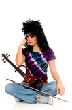 Music performer, violinist Royalty Free Stock Photo