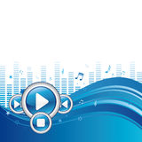 music play background Royalty Free Stock Image