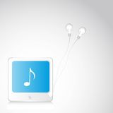 Music player Royalty Free Stock Image
