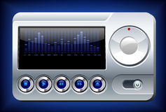 Music Player royalty free illustration