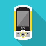 Music player. Eps 10 Royalty Free Stock Photography