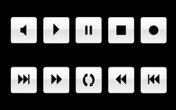 Free Music Player Icon Set [02] Royalty Free Stock Images - 6347959