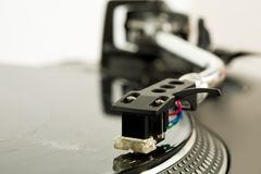 Music playing Stock Photography