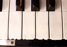 Music. Playing the piano Stock Photo