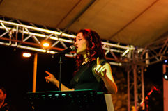 Music And Poetry Festival Royalty Free Stock Photos