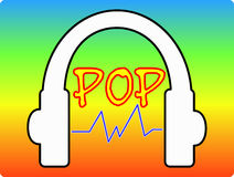 Music Pop Royalty Free Stock Images