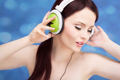 Music portrait Stock Photo