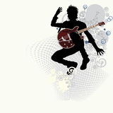 Music poster. Vector illustration in AI-EPS8 format.The file can be scaled to any size Royalty Free Stock Images