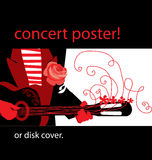 Music poster Stock Photo