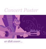 Music poster Stock Photography