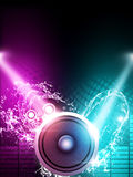 Music poster Royalty Free Stock Photo