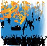 music poster Стоковое Изображение RF