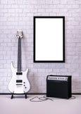 music poster 库存例证