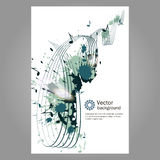 Music. Poster. Stock Images