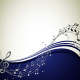 Music poster Royalty Free Stock Photos