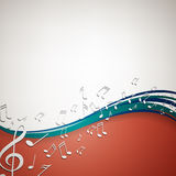 Music poster Royalty Free Stock Images