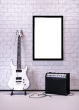 Music poster Royalty Free Stock Image