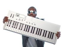 Music producer - being cool Royalty Free Stock Photos