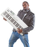 Music producer - being cool Royalty Free Stock Images