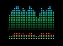 music readout Στοκ εικόνες με δικαίωμα ελεύθερης χρήσης