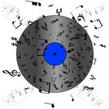 Music record Royalty Free Stock Photo
