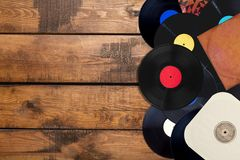 Music records Royalty Free Stock Photography
