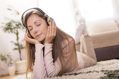 Music and relaxation Stock Image