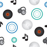 Music Repeating Pattern Royalty Free Stock Images