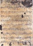 Music retro texture Royalty Free Stock Photo