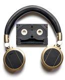 Music Robot Headphone Stock Image